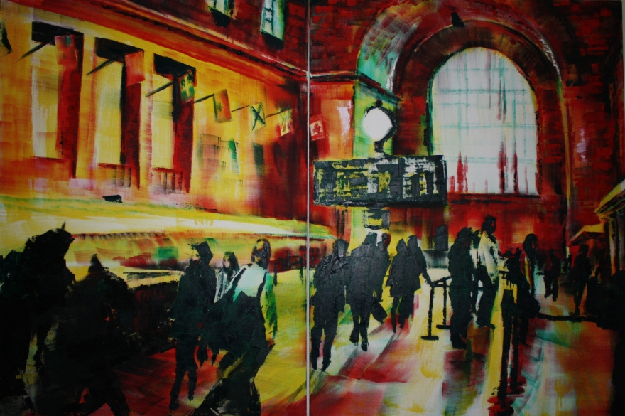 2012, oil on canvas