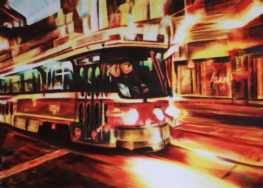 Adam Chapman - A City on Fire